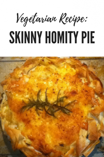 Vegetarian Recipe: Skinny Homity Pie