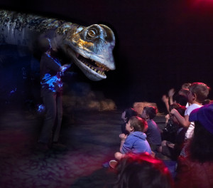 Dinosaur Petting Zoo, ERTH, Carriageworks