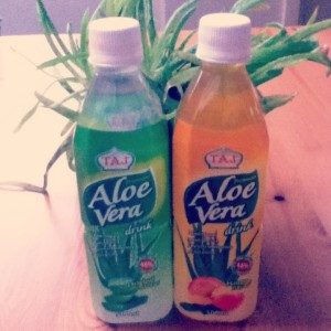 Aloe Vera Juice - did it put a spring in my step?