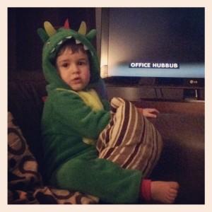 dragon onesie