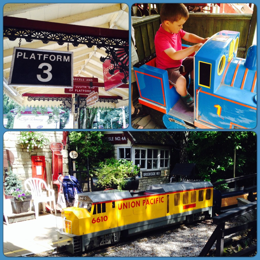 Big fun at the Brookside Miniature Railway, Poynton