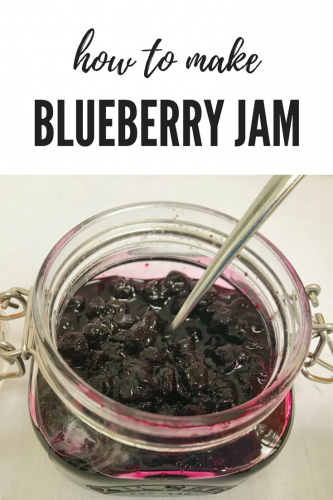 Recipe: Fridge Blueberry Jam - perfect with pancakes!