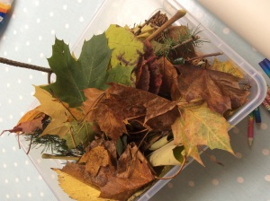 Autumn Leaf Crafts