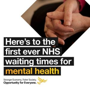 mental health waiting times