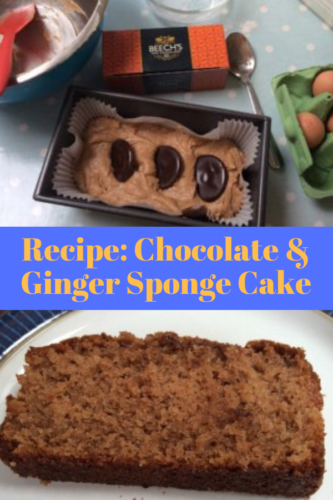 Recipe: Chocolate and Ginger Sponge Cake
