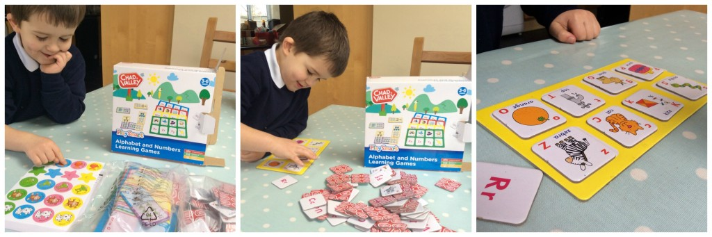 Chad Valley PlaySmart Alphabet and Numbers Learning Games