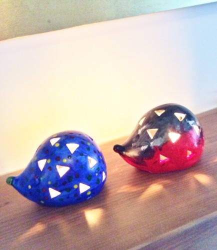 Hedgehog Tealight Holders