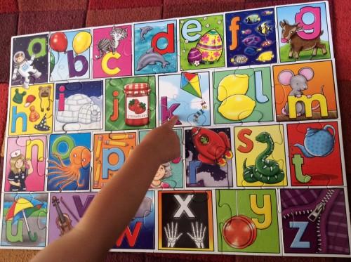 Big Alphabet Puzzle