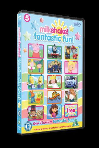 Milkshake Fantastic Fun DVD