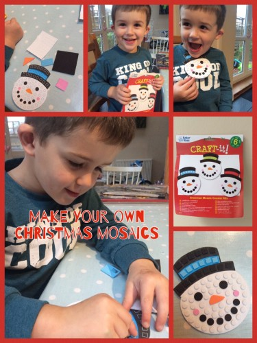 Snowman Mosaics