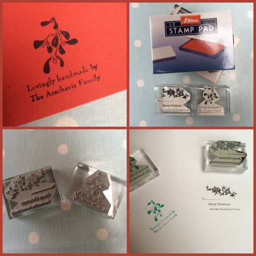 Christmas Ink Stamps