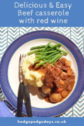 Recipe: Delicious slow cooked Beef in Red Wine