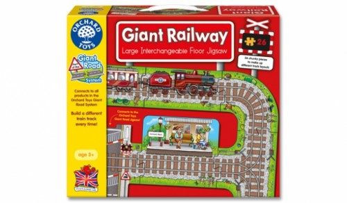 Orchard Toys Giant Railway Puzzle