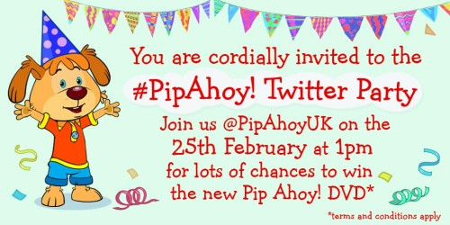 Pip Ahoy twitter party