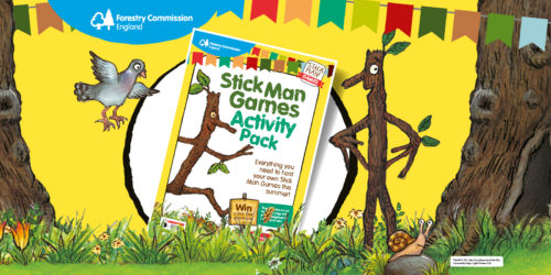Stick Man Activity Trail