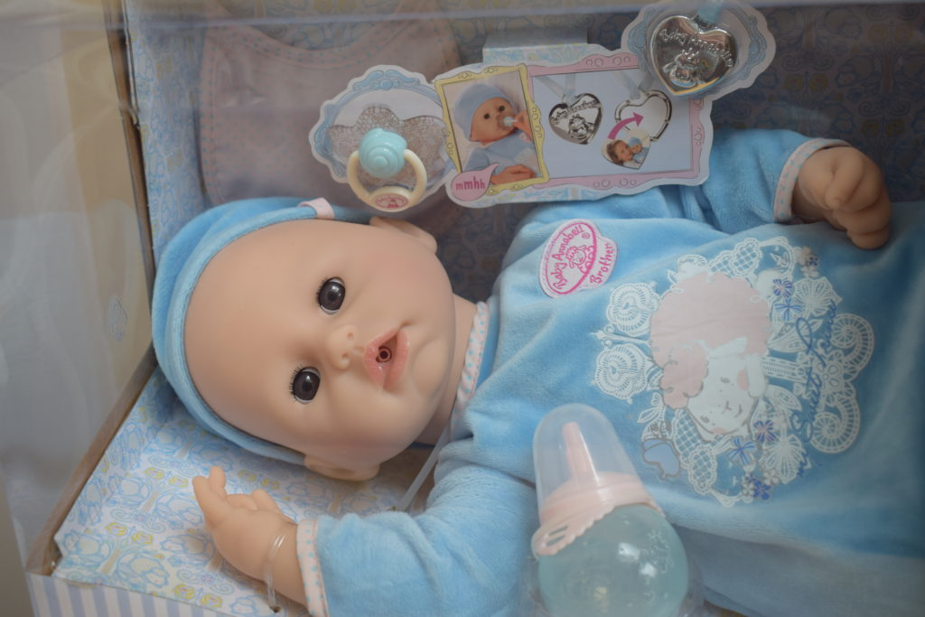 Review The Baby Annabell Brother Doll Hodgepodgedays