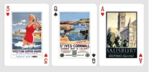 themed playing cards