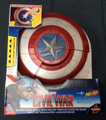 Captain America Civil War Blaster Reveal Shield