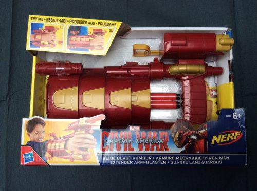 Iron Man Slide Armour