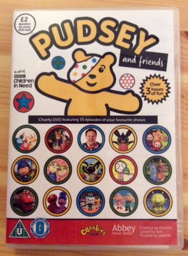 Pudsey and Friends DVD