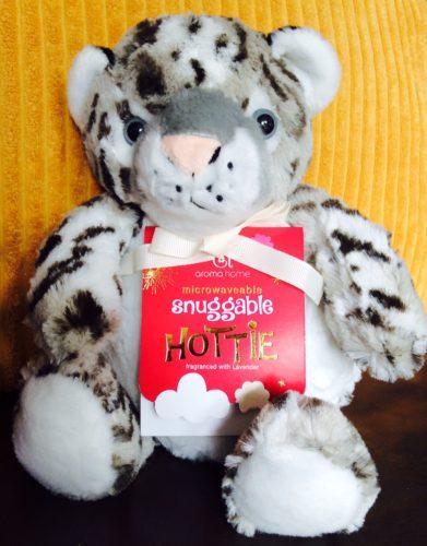 Snowy Leopard Microwaveable Hottie