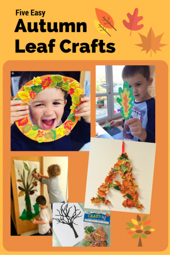 Five Easy Autumn Leaf Crafts