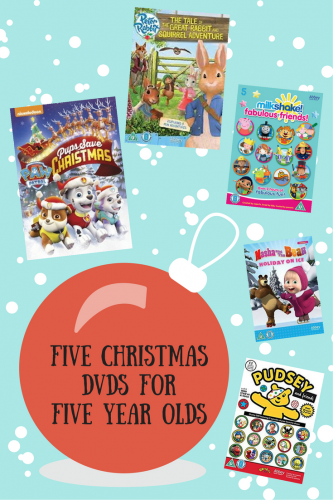Christmas Picks! Five DVDs for Five Year Olds