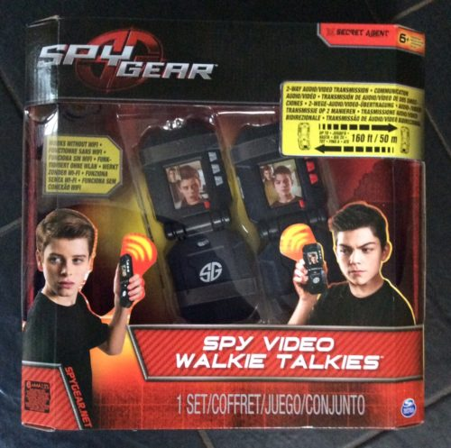 Toy Review: Spy Gear Spy Video Walkie Talkies