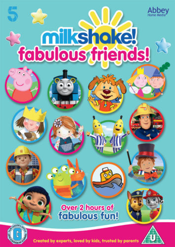 Milkshake Fabulous Friends DVD DVDs for Five Year Olds