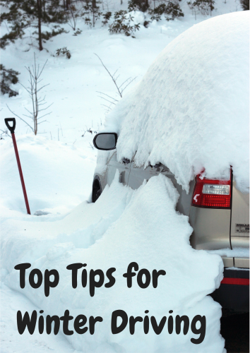 Safe Journey - Top Tips for Winter Driving