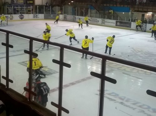 Sport: Where to learn to play Ice Hockey in Manchester