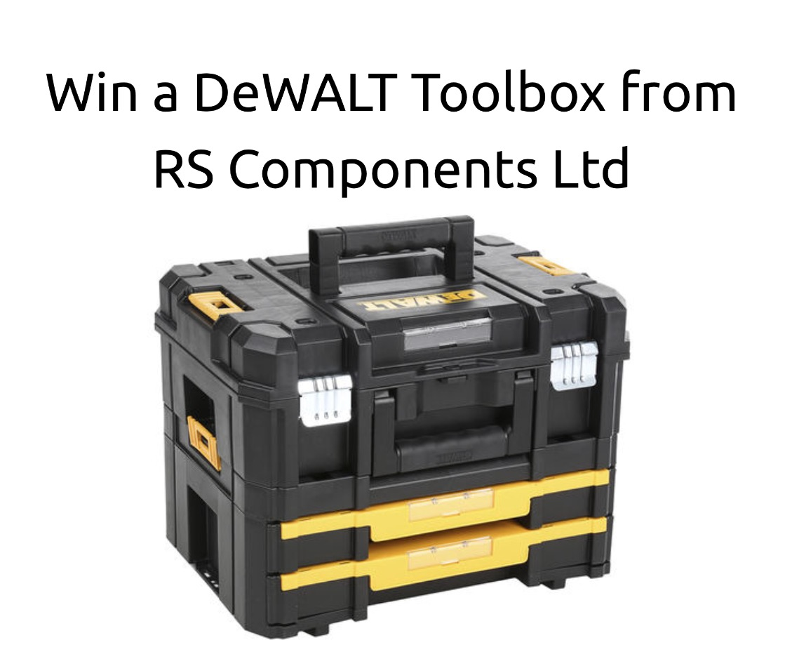 Win A Dewalt Toolbox From Rs Components Ltd Hodgepodgedays
