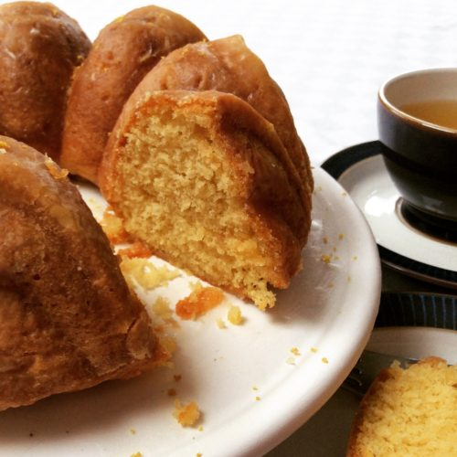 Recipe: Lemon and Ginger Drizzle Cake