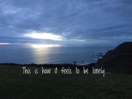 This is how it feels to be lonely