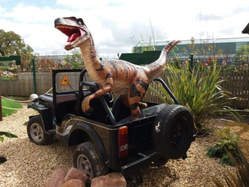 Days Out: Jurassic Cove Adventure Golf at Bents Garden & Home