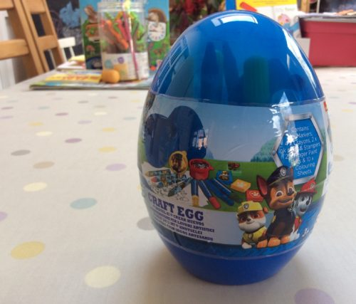 Review: Paw Patrol Craft Egg
