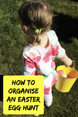 How to organise your own Easter Egg Hunt