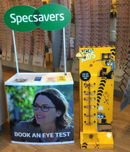 Can you dig it? The new JCB Kids glasses at Specsavers