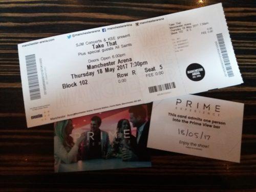 Take That Wonderland Tour - VIP Day with Key 103
