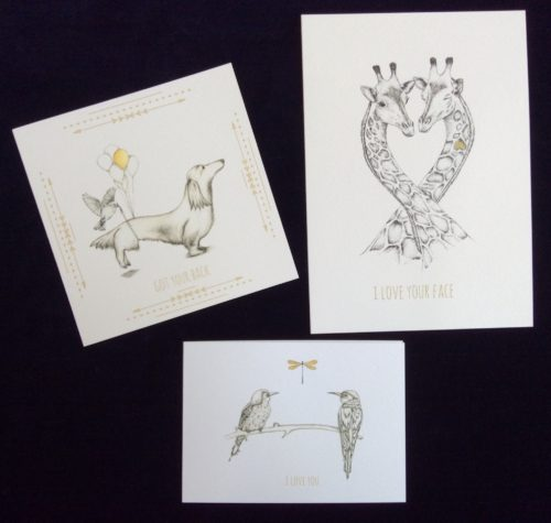 Pretty prints and greeting cards from Shepherd Illustration