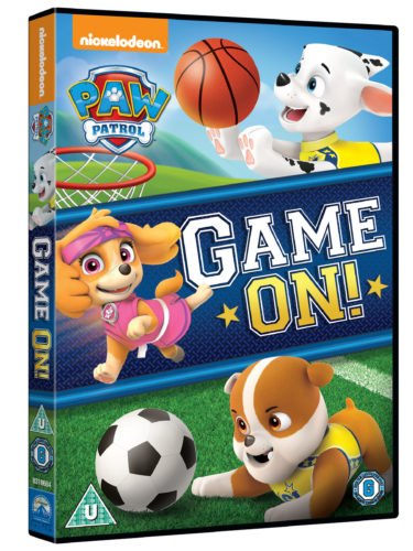 Giveaway & Review: PAW Patrol Game On! DVD