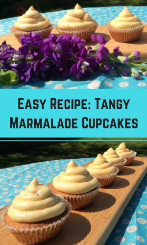 Recipe: Tangy Marmalade Cupcakes