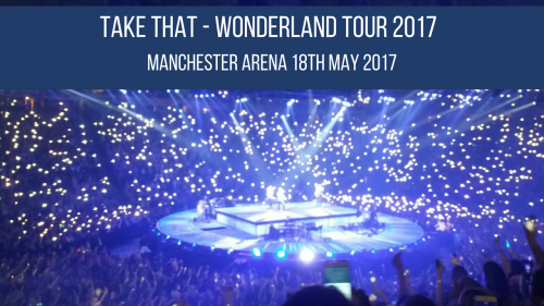 Take That Wonderland Tour - VIP Day with Key 103