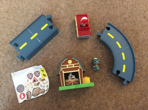 Review: PAW Patrol Rocky's Barn Rescue Track Set