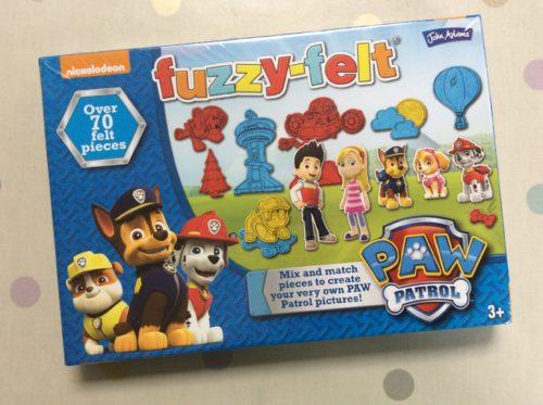 Toy Review: Fuzzy Felt Paw Patrol Set