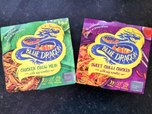 Giveaway & Review: New Blue Dragon Frozen Ready Meals