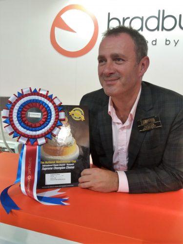 Judging the International Cheese Awards 2017
