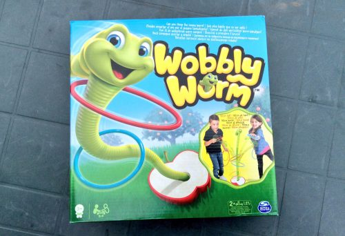 Review: Wobbly Worm - a great garden game for kids