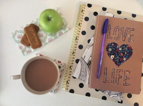 At least 5 things every blogger has on their desk
