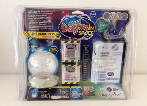 Review: Aqua Dragons in Space - Live Astro Pets Deluxe Kit